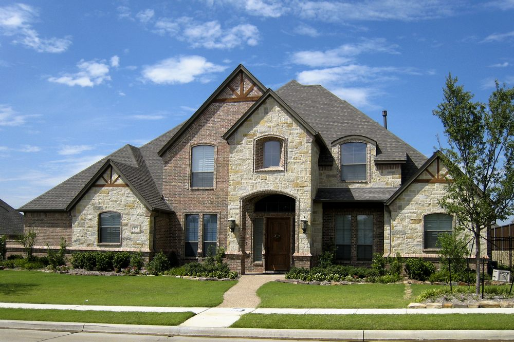 Country french home elevations joy studio design gallery for Texas country house plans