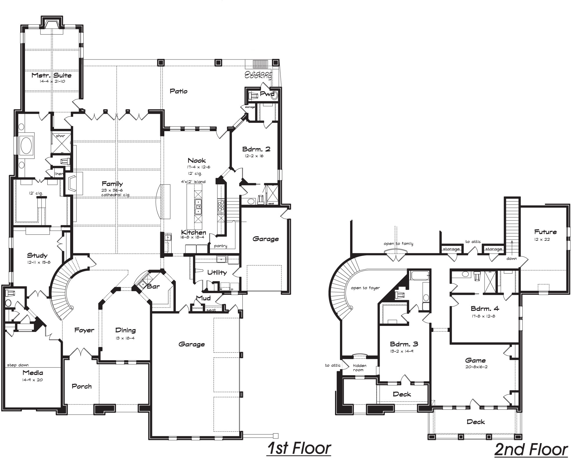 Garden Home Plans House Plans With Interior Photos 2 Bedroom