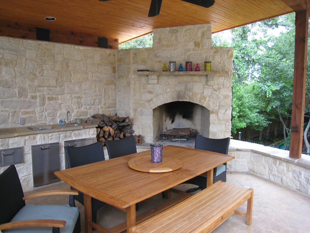 Outdoor Living Spaces : Texas Best House Plans By Creative