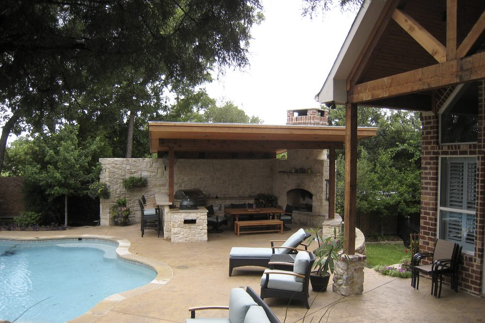 Outdoor Living Spaces Texas Best House Plans By Creative Architects