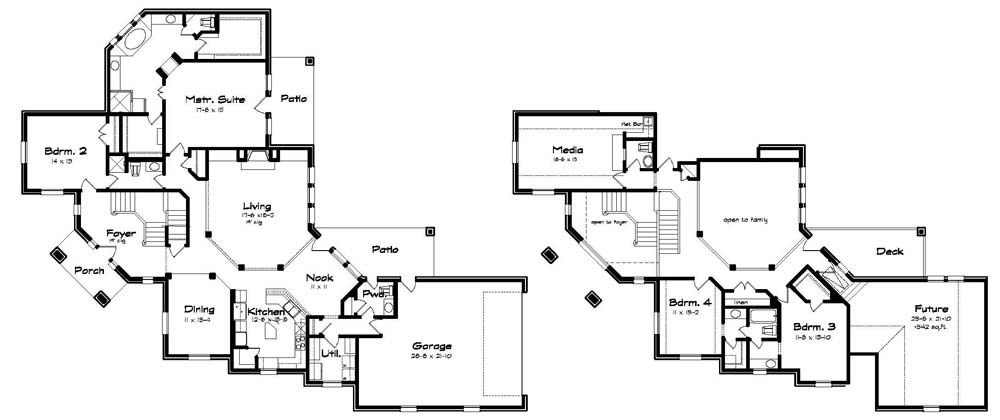 Home Ideas Corner Lot House Plans