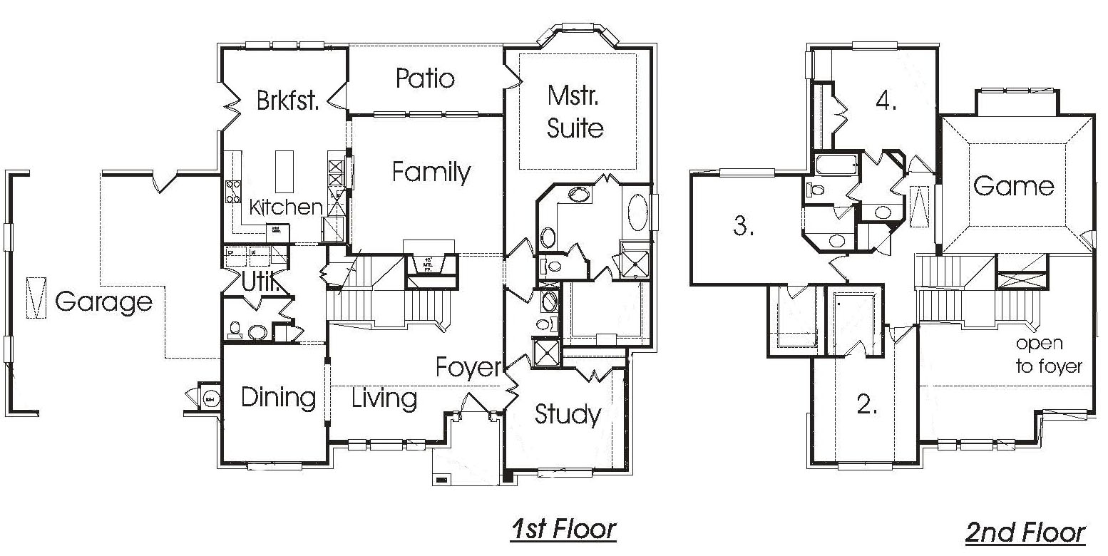 House Plans With Front View Joy Studio Design Gallery