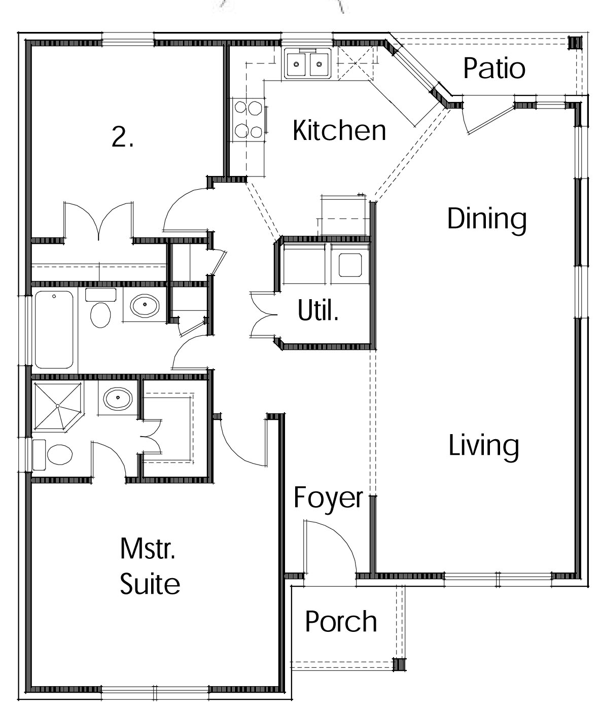 Small houses house plans and home design on pinterest for Simple home plans free