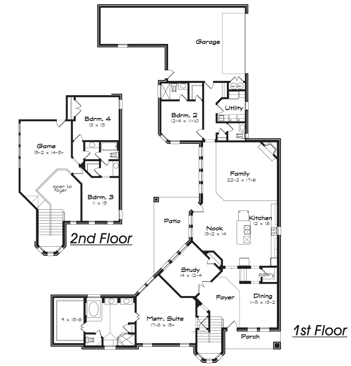 Stamford texas best house plans by creative architects for C shaped house plans